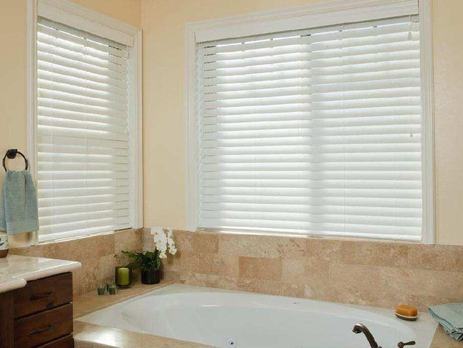 Shop Online For Cheap 2 189 Quot Faux Wood Smart Privacy Blinds
