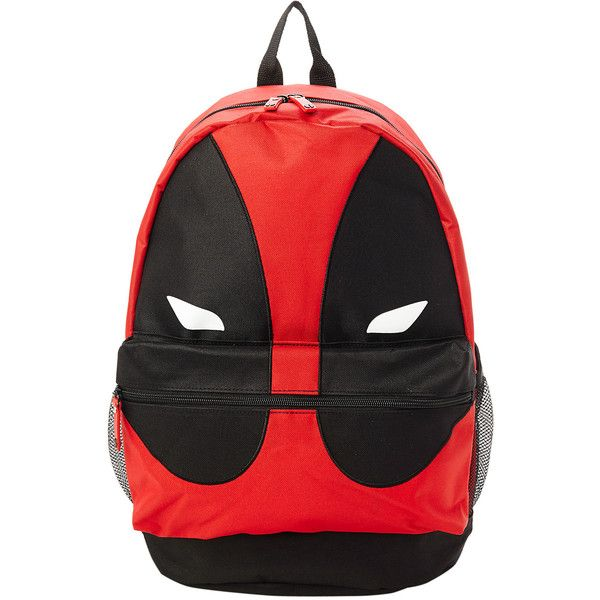 Marvel Deadpool Mask Backpack Hot Topic (