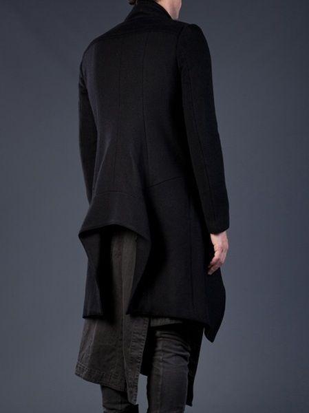 7b14bb584ce91 Julius Long Coat in Black for Men - Lyst