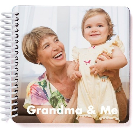 Grandma & Me Photo Board Book #bestgiftsforgrandparents