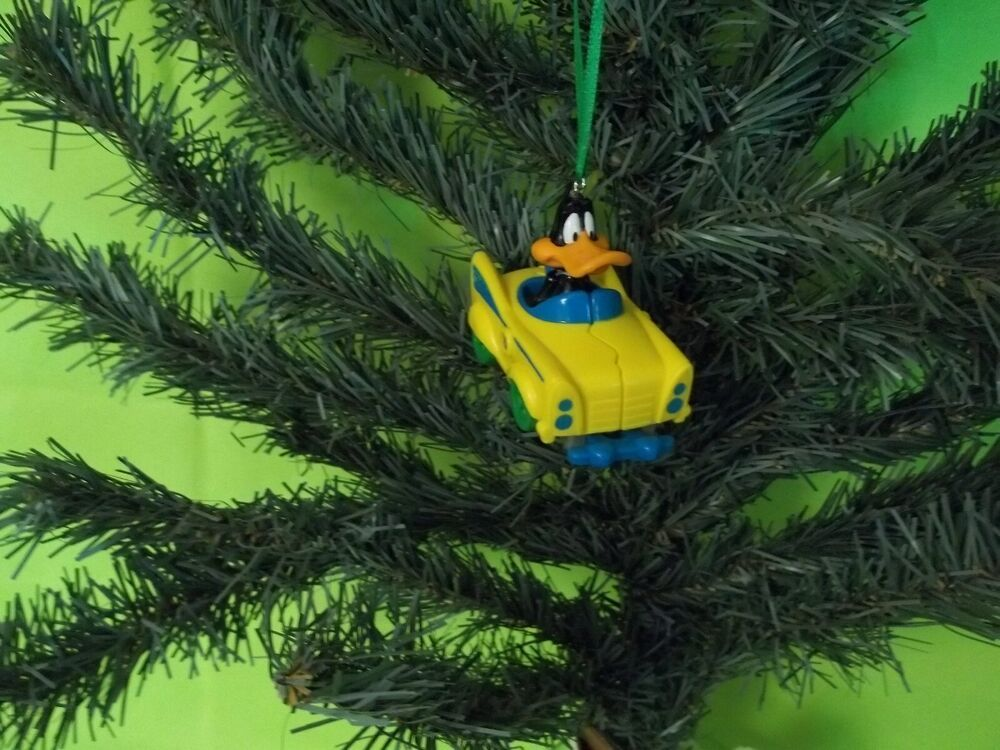 Custom Daffy Duck Christmas Ornament