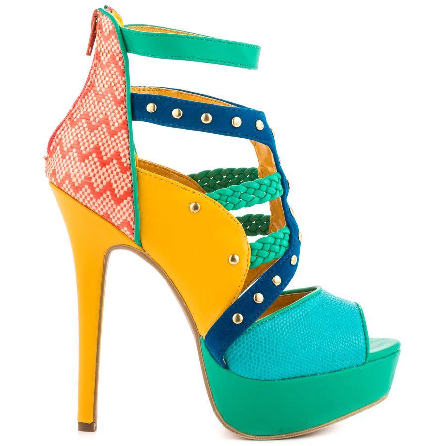 Attilio - Turquoise Shoe Republic $59.99