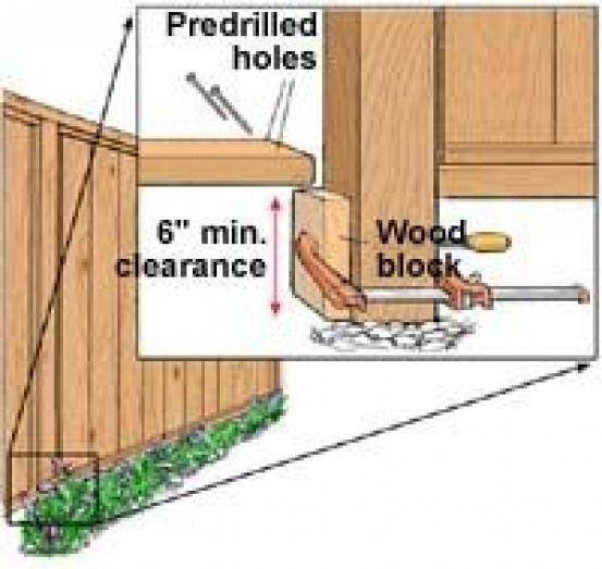 DIY How to Build a Basic Fence DIY How to Build a Basic Fence