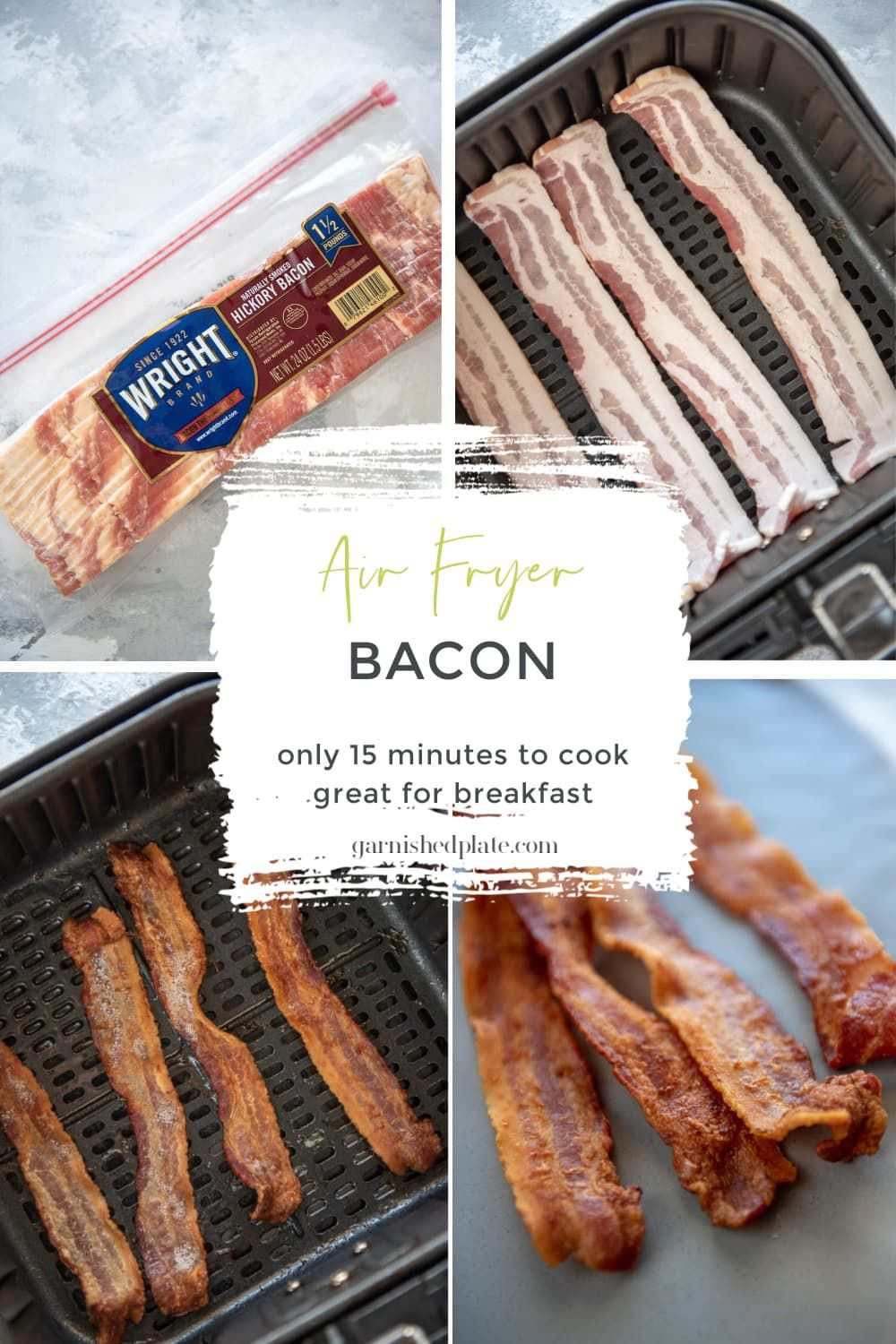 Do you want crispy delicious bacon in no time try your