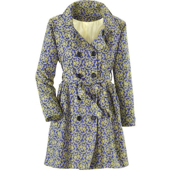 Venetian Brocade Coat - New Age & Spiritual Gifts at Pyramid Collection found on Polyvore