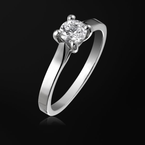 Platinum Diamond Engagement Ring G34LK500 Piaget Wedding Jewelry