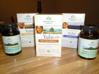 Organic India Tulsi Tea and Supplements Giveaway!