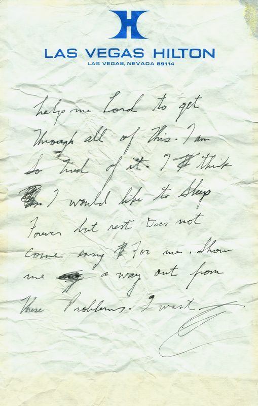 elvis handwritten notes - Google Search | Elvis Forever | Pinterest ...