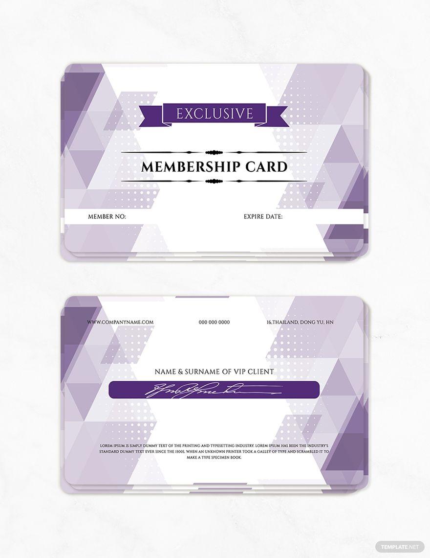 Free Vip Member Card Template Ad Affiliate Vip Free Member Template Card Card Template Member Card Membership Card