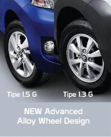 grand new avanza type g 1.3 agya 1.2 a/t trd toyota mobil mpv keluarga terbaik indonesia di auto2000