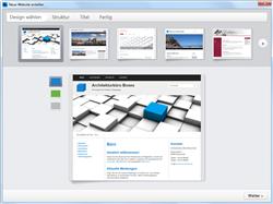 Desktop CMS, Neue-Website-Assistent. http://www.zeta-producer.com/de/bildschirmfotos.html