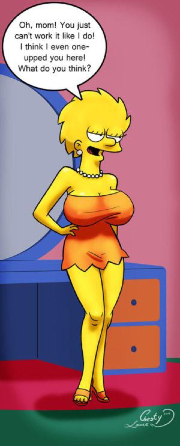 Lisa Weights In By Chesty-Larue-Art On Deviantart -4501