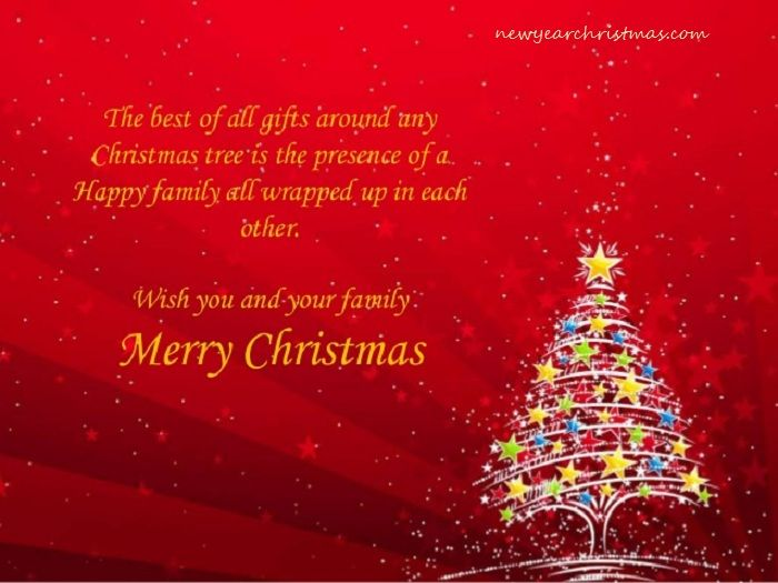 Merry Christmas Wishes for Family Merry christmas