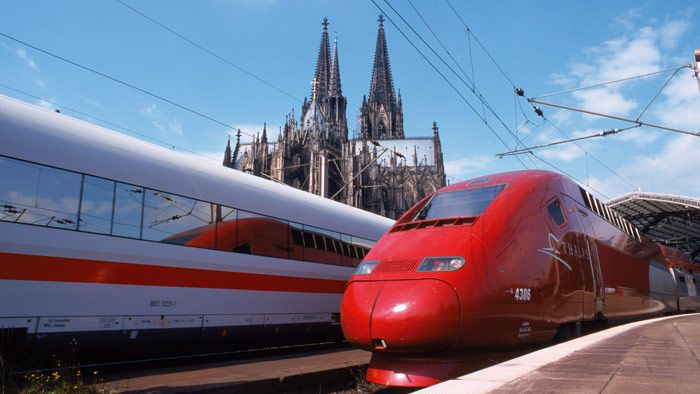 By Train From London To Cologne Koln And Aachen Europe Train