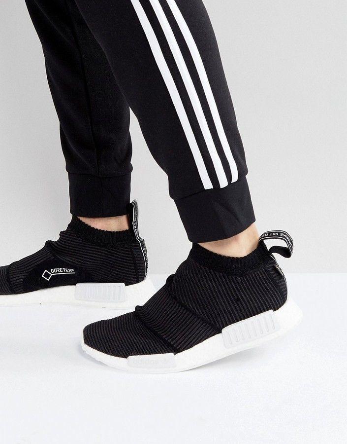 adidas Originals NMD CS1 Goretex Primeknit Sneakers In Black
