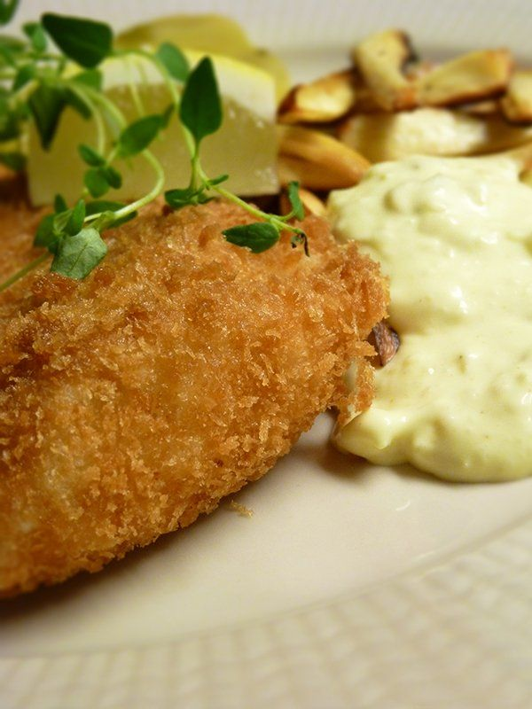 Recept på Fish & chips - Recept.com