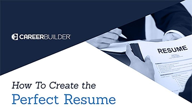 How to create the perfect resume perfect resume good