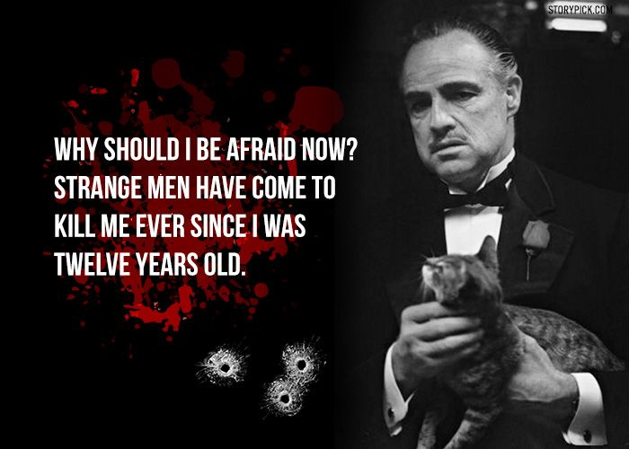 Godfather Quotes Pin by Michael Johnson on So true | Pinterest | Godfather quotes  Godfather Quotes