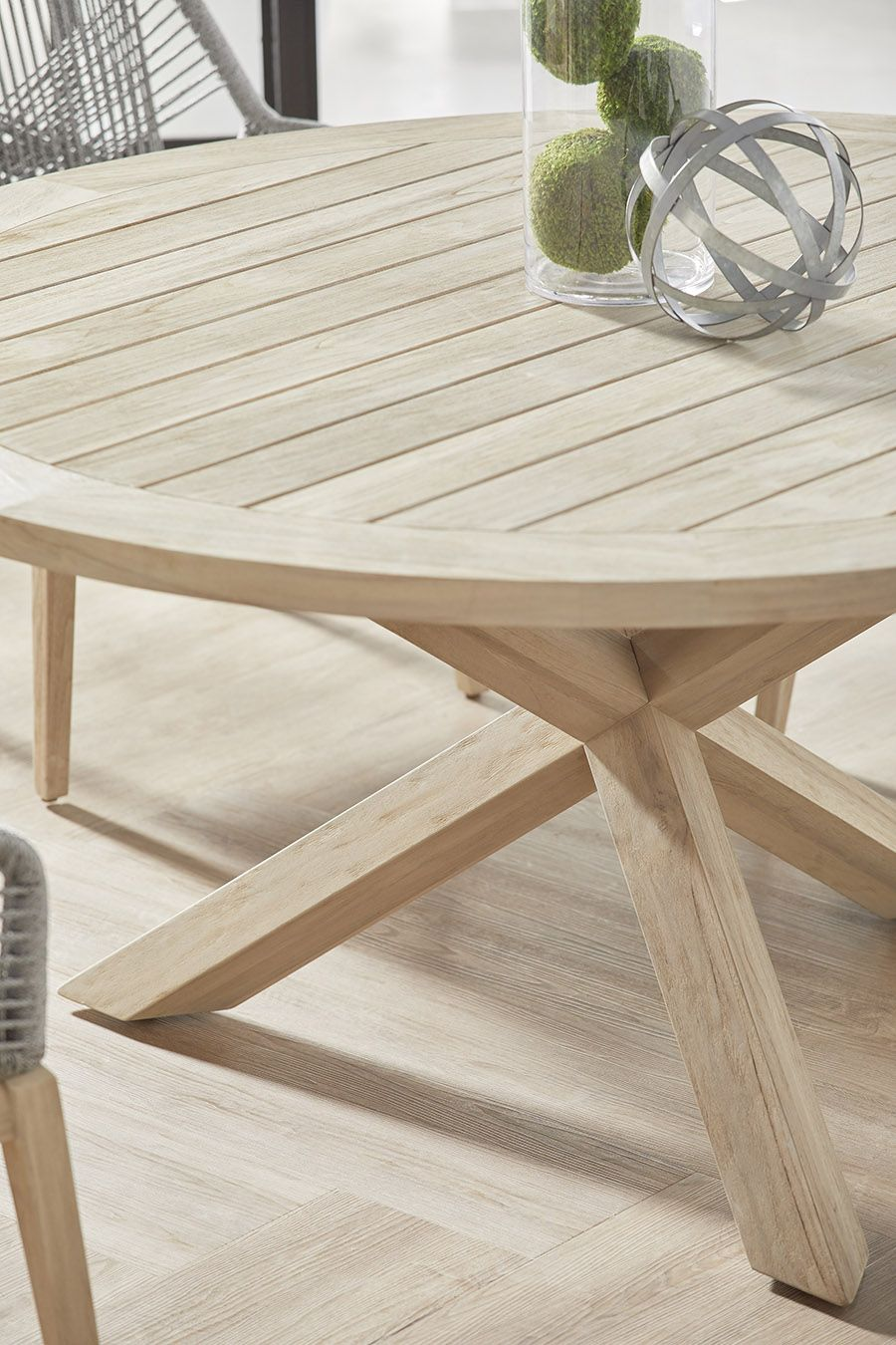 Sumatra Round Outdoor Dining Table Shop Dining Furniture In 2020