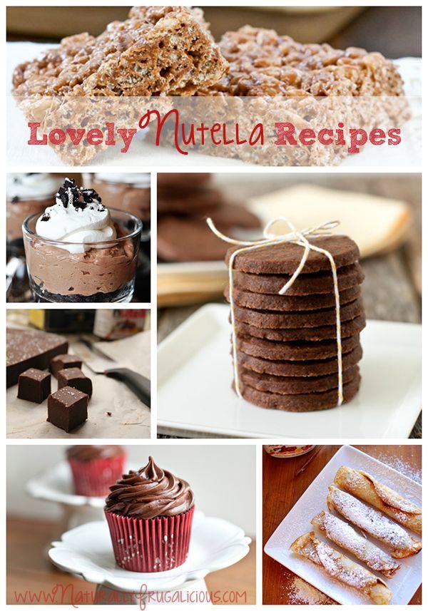 lovely nutella recipes 8 Lovely Nutella Recipes