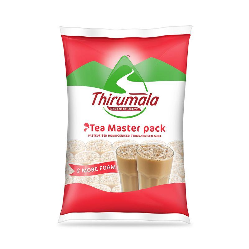 Thirumala launches 'Tea Master' Milk ~  Special milk Targeting Tea Shops in TamilNadu