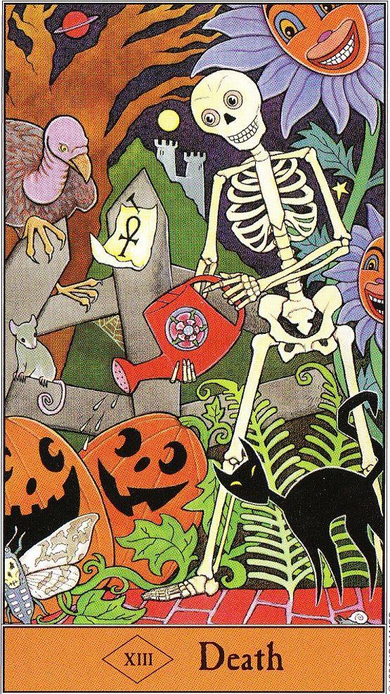 The Halloween Tarot Arte de carta tarot, Baraja de tarot