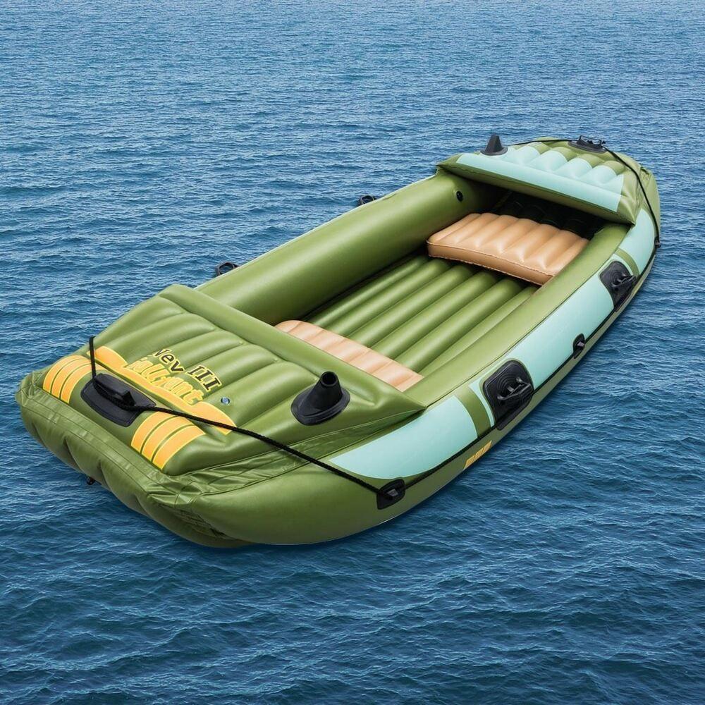 Bestway Inflatable Boat 3 Person Kayak Rib Dinghy Tender