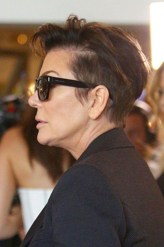 Kris Kardashian Haircut Photos Dicas De Beleza Pinterest