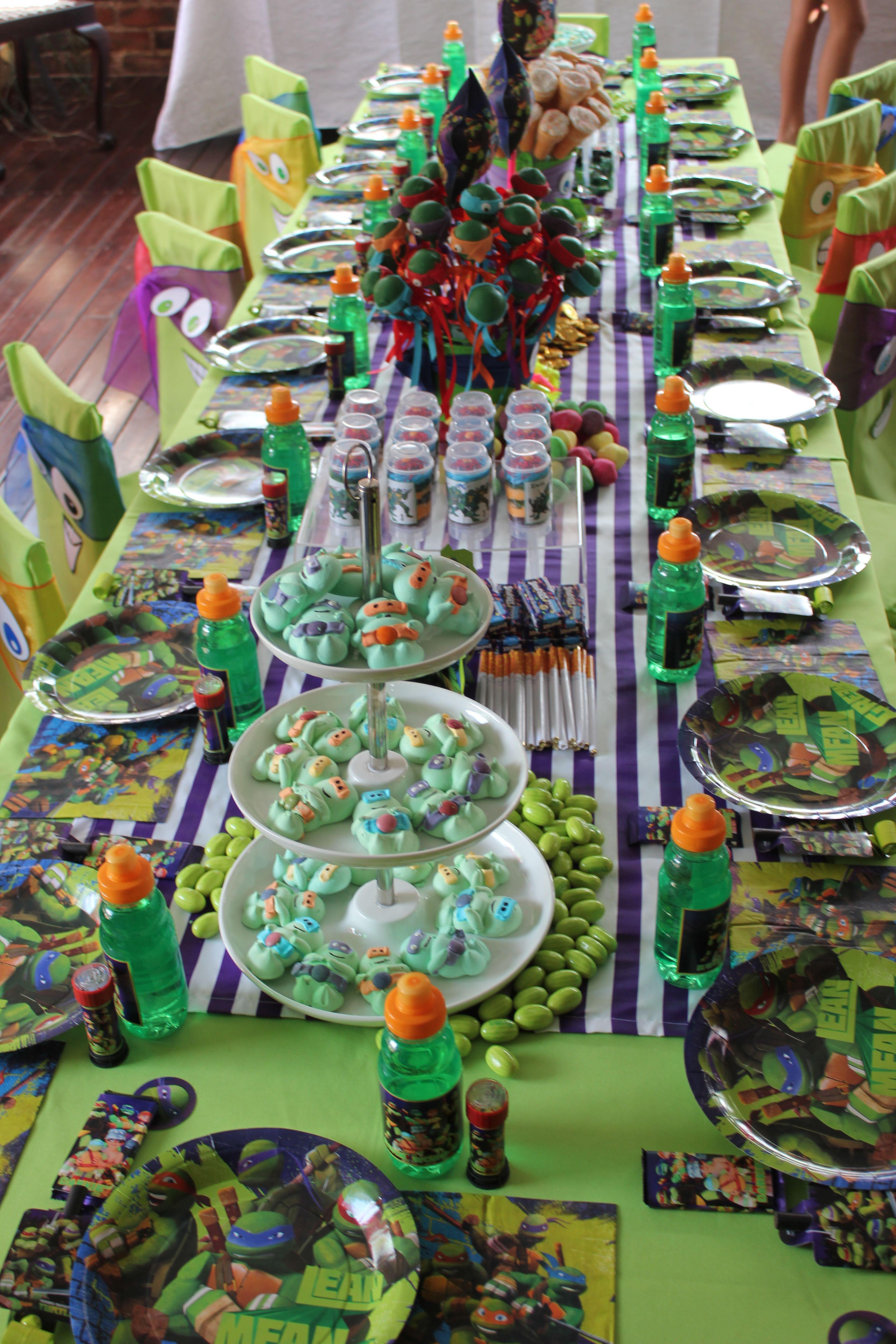 Tmnt Party Ninja Turtles Birthday Party Tmnt Party Ninja Turtle Party