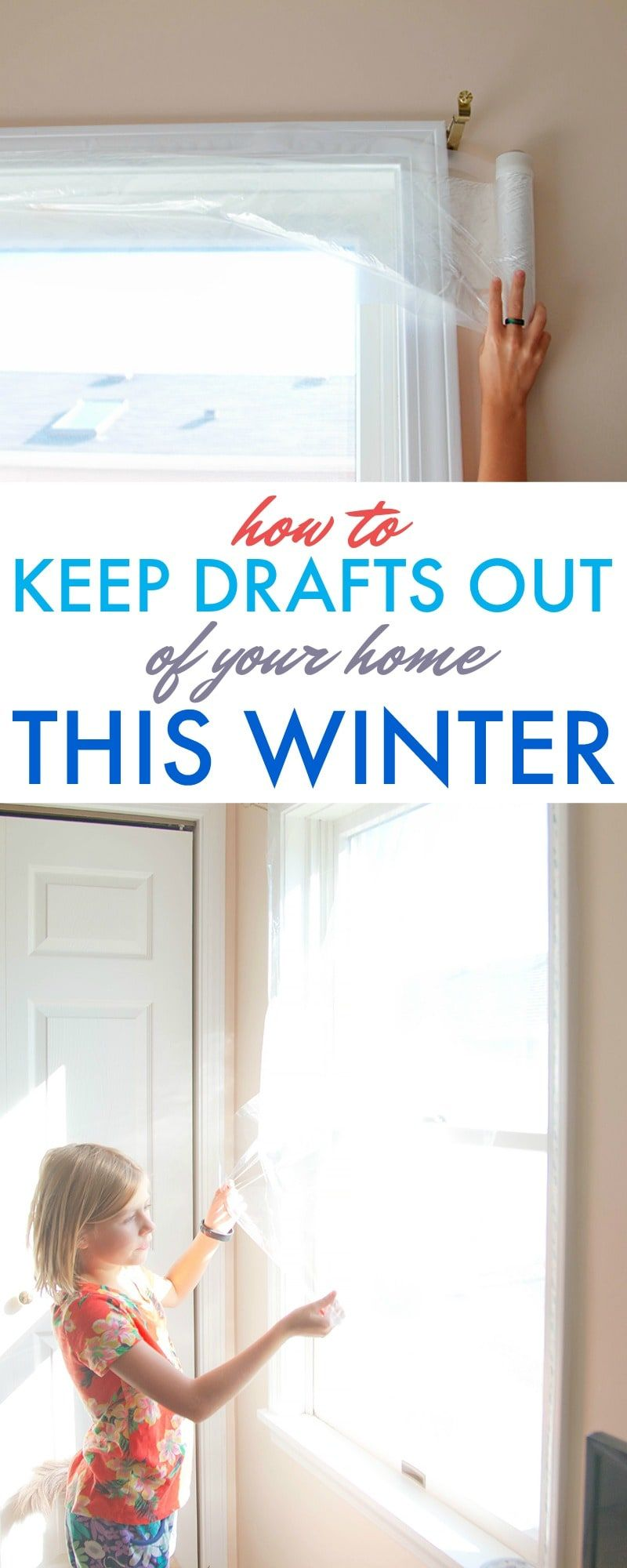 How To Keep Drafts Out Of Your Home This Winter Window Insulation Window Insulation Diy Diy Insulation