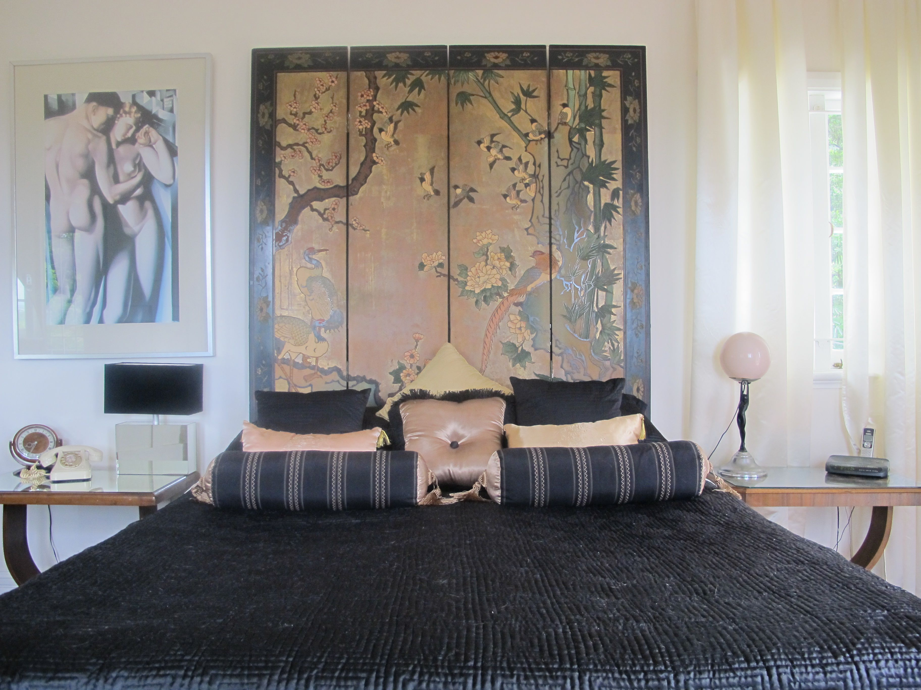Our Oriental Art Deco Bedroom Closet Ideas
