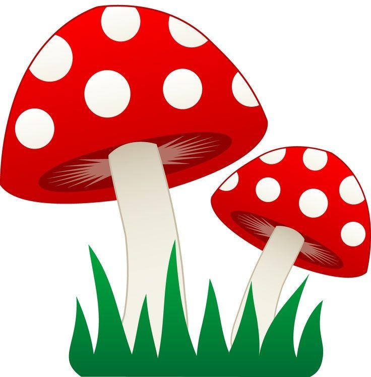 mushroom clipart gnome birthday for e pinterest mushrooms t rh pinterest com mushroom clip art free mushroom clipart images