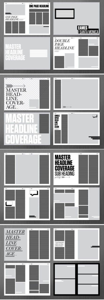 设计参考 | 版式设计 #editoriallayout