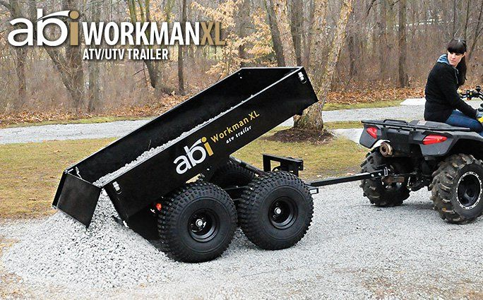 Harbor Freight Utility Cart >> Workman XL Trailer - ATV Dump Trailer - ABI | Going Off ...