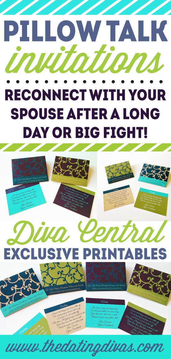 Dating divas pillow talk