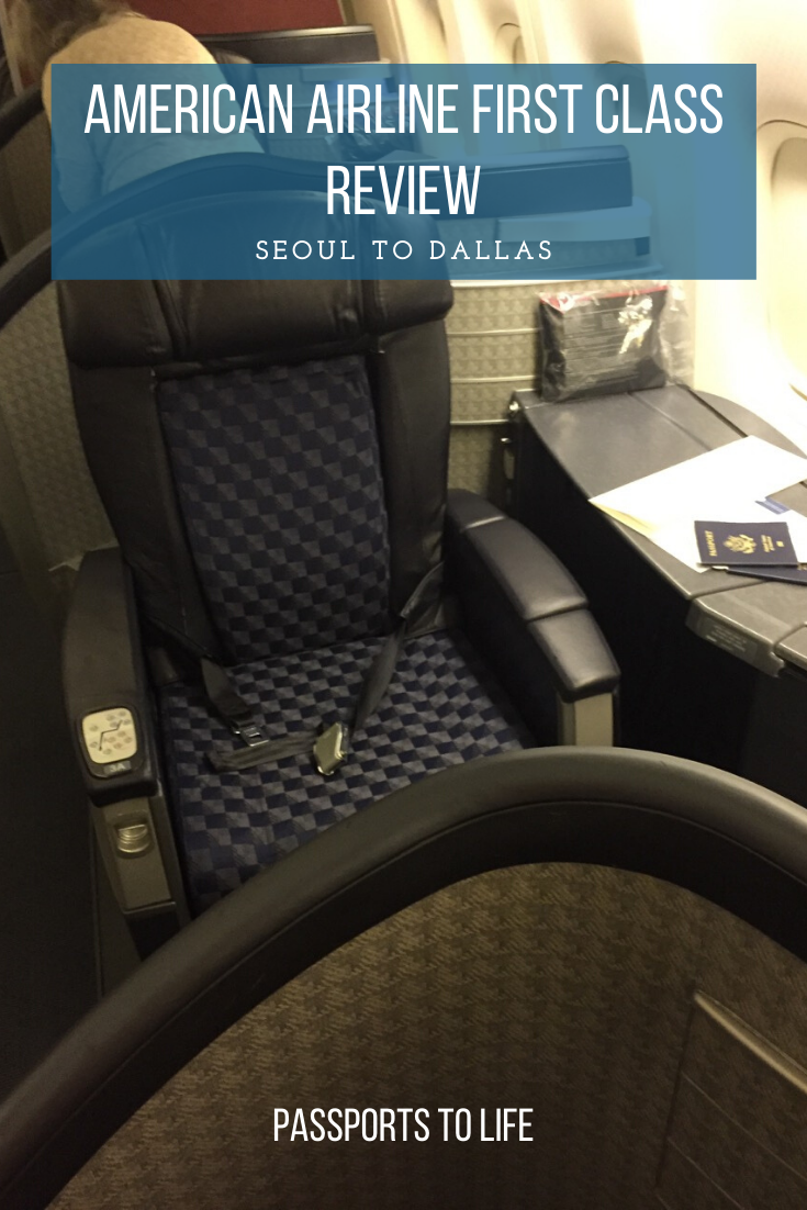 American Airlines First Class Seoul to Dallas Review