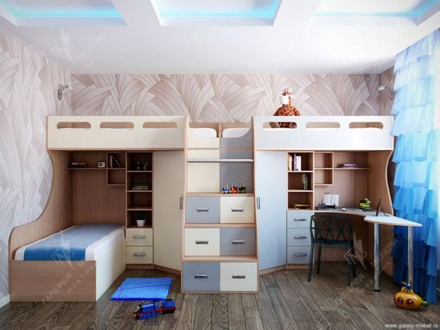 30 And Three Children Bedroom Design Ideas Kids Bedroom Designs Modern Kids Room Modern Kids Bedroom