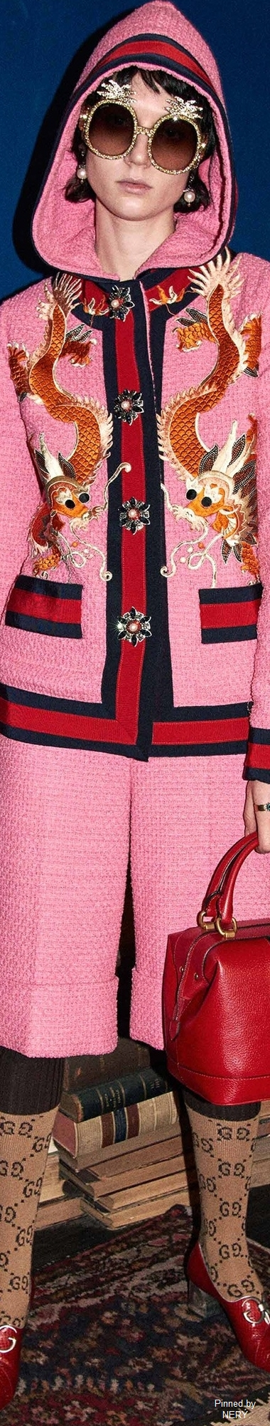 Today's design inspiration: Gucci High Couture. More at Luxxu Blog