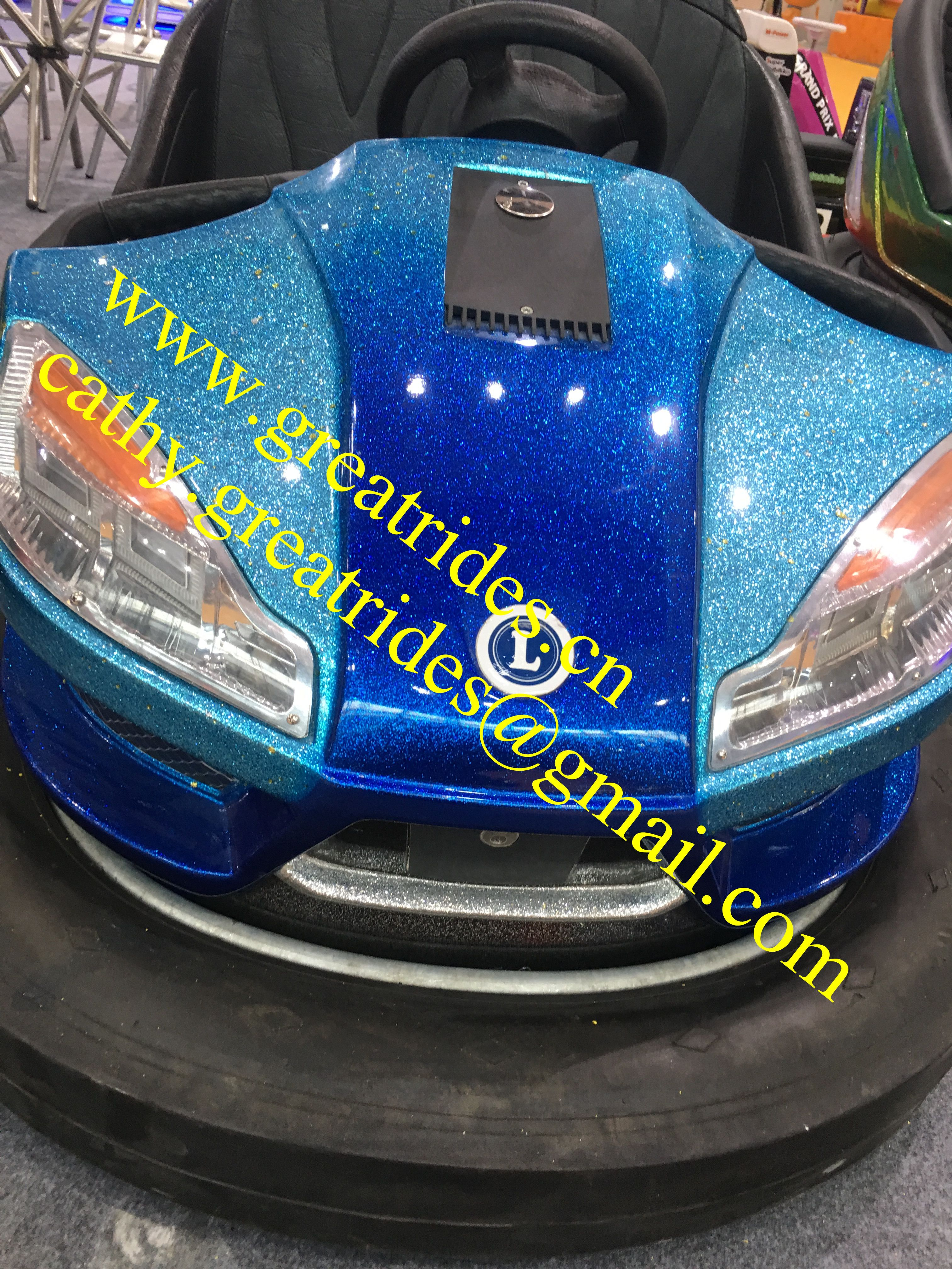 Cheap price 360 degree rotary electric adult bumper cars