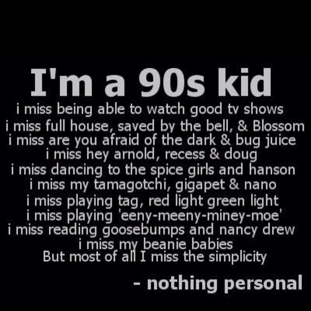 90's babyyyy!