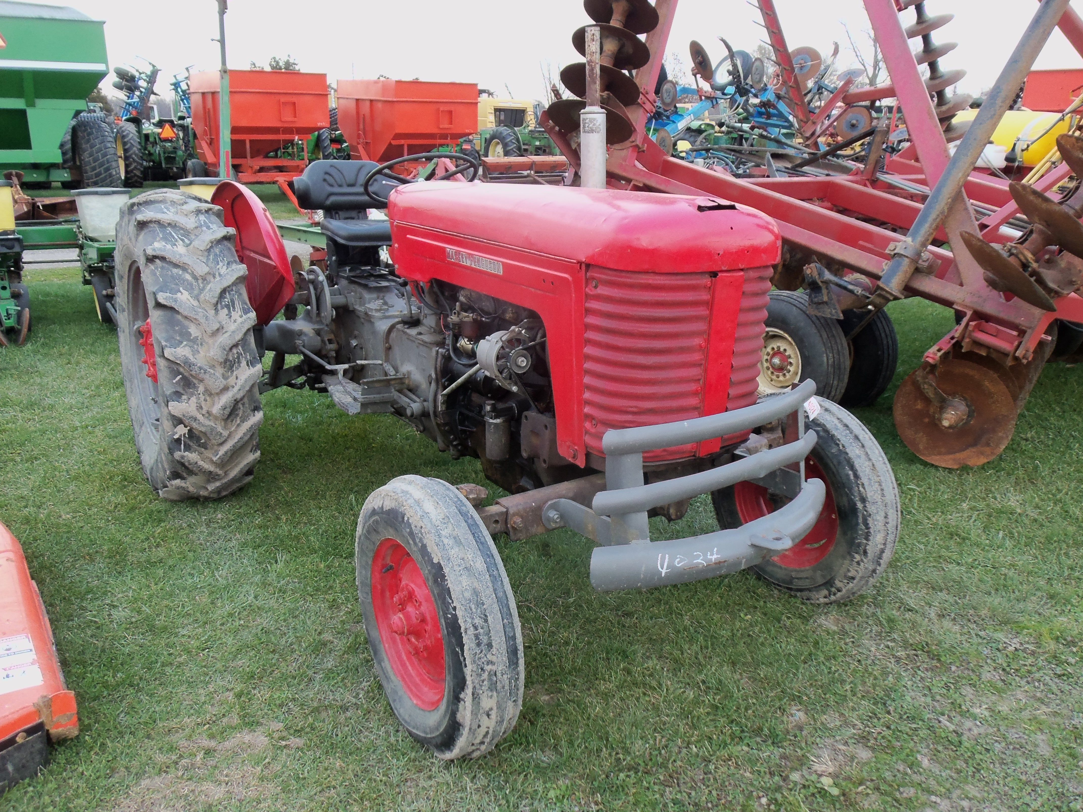 1964 Massey Ferguson 65 : Massey ferguson utility tractor would be replaced by