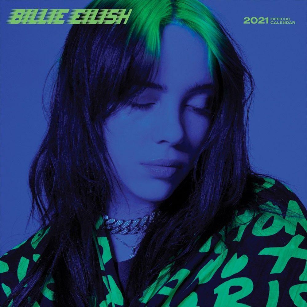 Billie Eilish 2021 12 X 12 Inch Monthly Square Wall Calendar Music Pop Singer Songwriter Celebrity In 2020 Billie Eilish Pop Singers Billie
