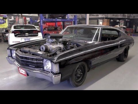 The Second Episode Of Hot Rod Unlimited Finds The Staff Of Car Craft Revamping A 72 Chevelle In One Day And Adding A Blowe Chevelle 72 Chevelle 1972 Chevelle