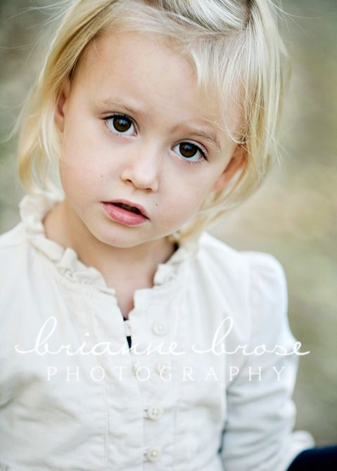 The Look Of Wonder On A Child S Face Brown Eyes Blonde Hair