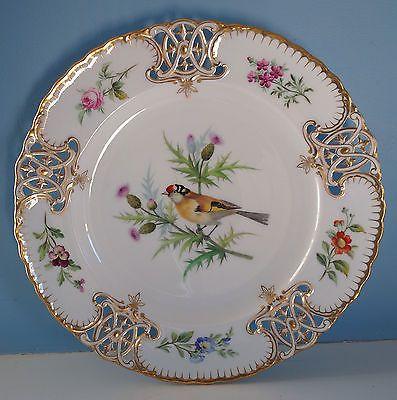 Incredible Antique Minton Bird Plates