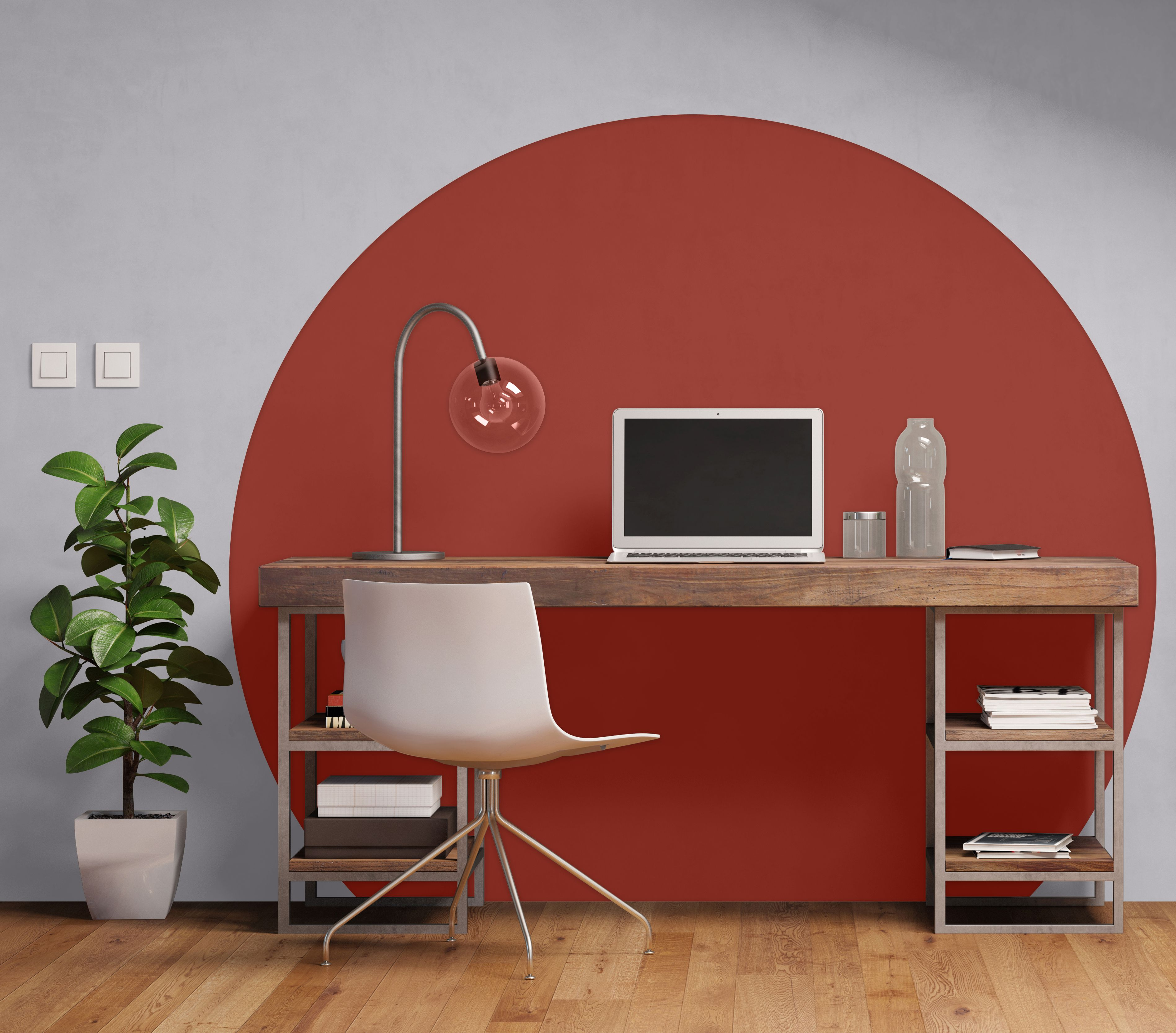 coolest shades of fall energize work study spaces ppg on home office color trends id=64922