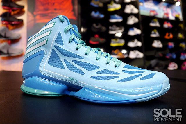 Another new colorway of the adidas adizero Crazy Light 2 has started to  make its way to stores. e05fc82594