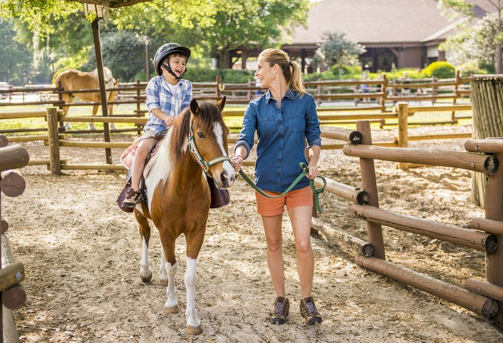 Fort Wilderness Horse Riding