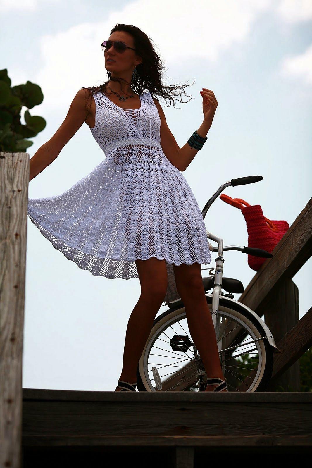 Vestidos de verano a crochet patrones