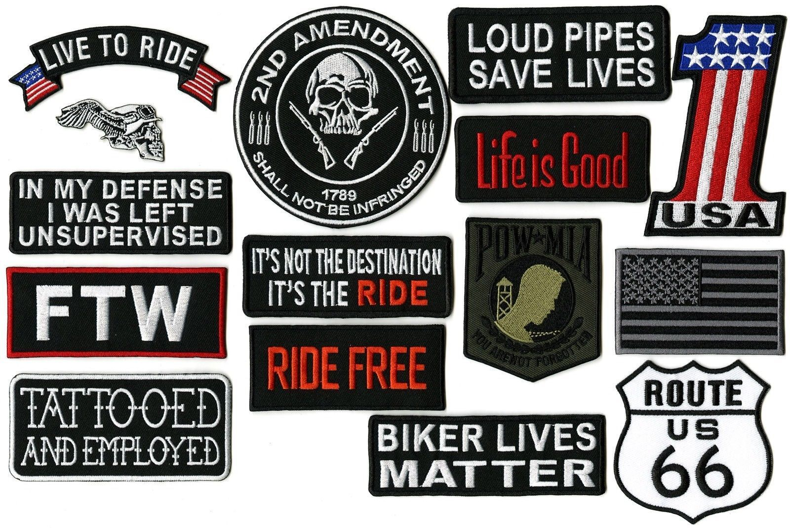 It`s a way of Life Embroidered Patch It`s not just a VW